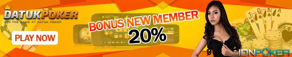 Bonus Idn POker  Online terbesar